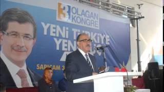 ak parti genel başkan yardımcımız sayın beşir atalayın adana sarıçam kongresine teşrifleri