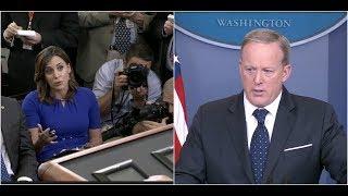 Sean Spicer SLAMS NBC Reporter for Spreading LIES about Trump Healthcare