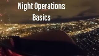 VFR Night Flying   The Good And The Bad
