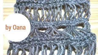 Crochet Broomstitck Lace  Without Broomstick