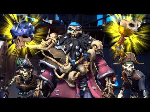 Summoning the OP Skeleton Lord in Sea of Thieves