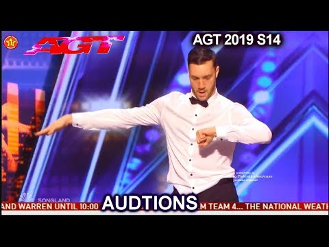 Patrizio Ratto Dancer and Classical Pianist UNIQUELY AWESOME | America's Got Talent 2019 Audition (видео)