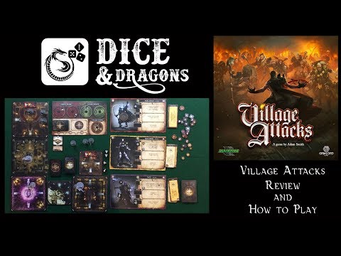 Dice and Dragons - Village Attacks Review and How to Play