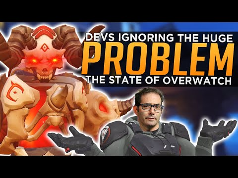 Devs Are Ignoring the Huge Problem With Overwatch