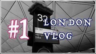 London Vlog #1 一個人的旅行