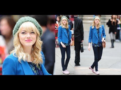 Get Emma Stone's Look | Celebrity Fashion | Celeb Style