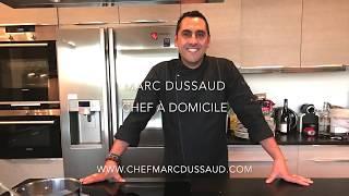 La nouvelle vidéo du chef Marc Dussaud