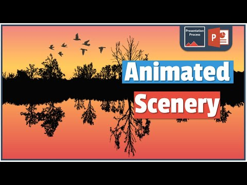 Download How To Create Beautiful Animated Powerpoint Scenery