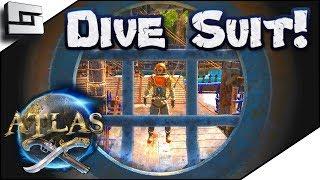 Atlas Dive Suit! Atlas Gameplay / Let's Play E15
