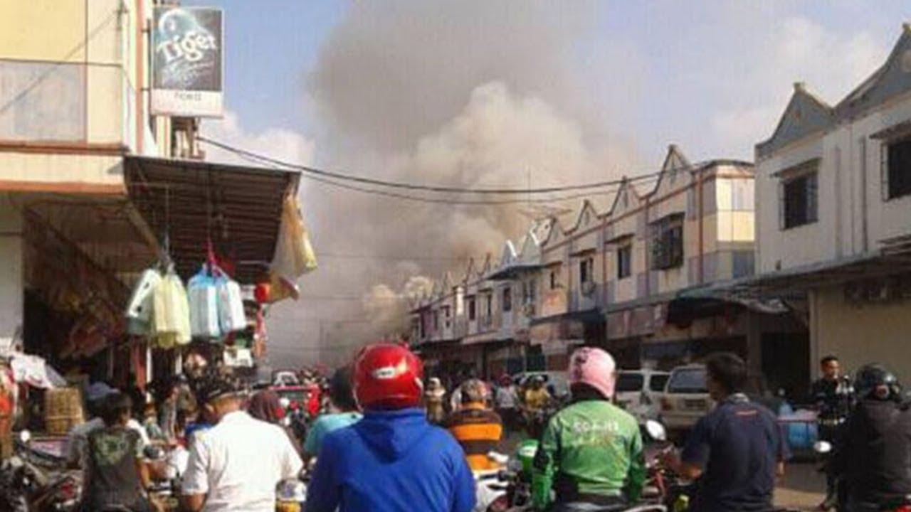 Terjebak di Lantai Dua Ruko yang Terbakar, Seorang Ayah Nekat Lompat Demi Selamatkan Nyawa Anaknya