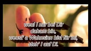 Weus'd a Herz host wia a Bergwerk-Fendrich(lyrics)