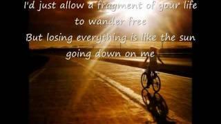 Don't Let The Sun Go Down On Me with lyrics. George Michael .. Elton John