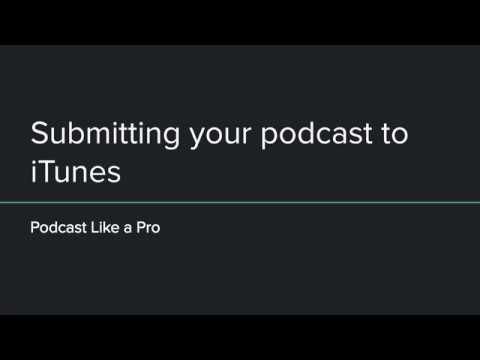 How to submit your podcast to Apple Podcasts (iTunes)
