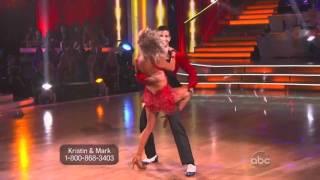 Kristin Cavallari and Mark Ballas Dancing with the Stars - samba
