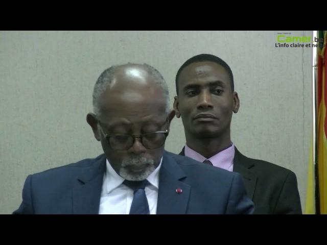 Laurent Esso explique les raisons de la présence de sa délégation à Bruxelles