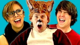 TEENS REACT TO YLVIS   THE FOX
