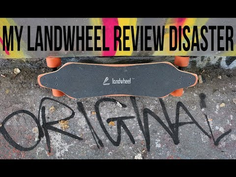 My Landwheel Electric Skateboard Drive Review Disaster! :( – esk8r