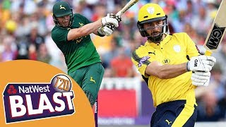 Wessels And Vince Star In 2nd Semi - Highlights: Notts v Hampshire NatWest T20 Blast Finals Day 2017