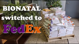 BioNatal switched to FedEx