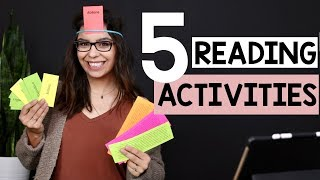 Five Reading Activities to Increase Engagement and Rigor | The Lettered Classroom