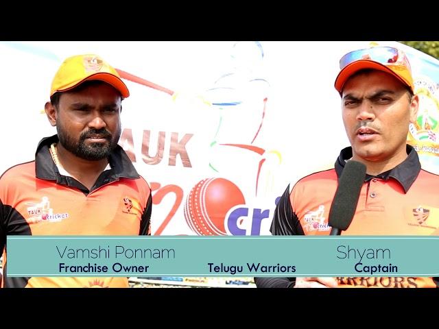 Telugu Warriors Intro
