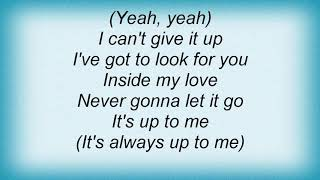 Artful Dodger - I Can't Give It Up Lyrics