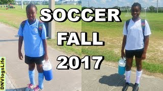 Soccer Scrimmage Game:  Fall 2017
