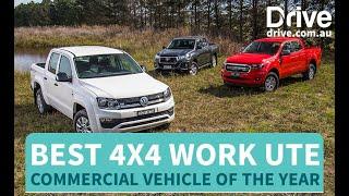 2019 Best 4x4 Work Ute | Toyota HiLux v Ford Ranger v Volkswagen Amarok