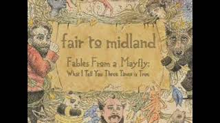 Fair to Midland - The Wife, The Kids, and The White Picket Fence Piano Cover