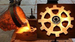 Making A Copper Fidget Spinner Gear