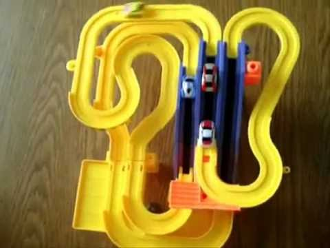 Automated Rally Track Slot Car Racers