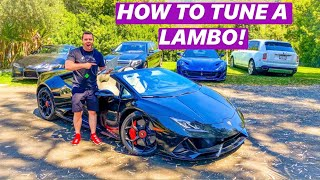 I TUNED MY NEW 2020 LAMBORGHINI HURACAN EVO DREAM CAR *DIY INSANE HP!!*