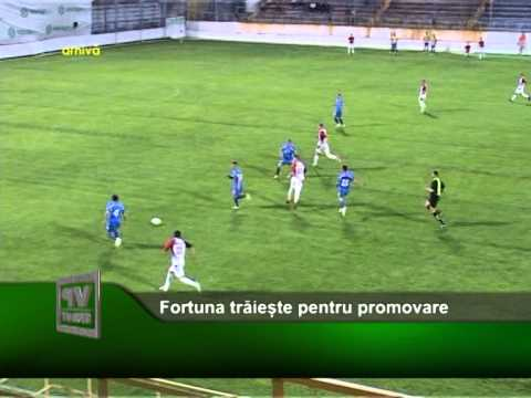 Fortuna trăiește pentru promovare