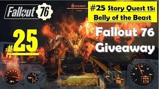 Fallout 76 - Belly of the Beast - Find Taggerdy - Kill Glowing Scorchbeast Boss