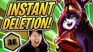 INSTANTLY DELETE THE ENEMIES!   6 Sorcerers Team   TFT   Teamfight Tactics   LoL Auto Chess