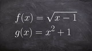 Learn how to find the domain for the quotient of two functions