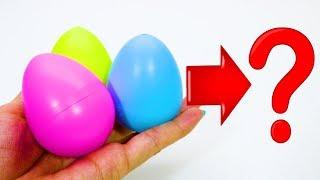 Кто вылупится из яиц? Яйца, растущие в воде и из них вылупляются игрушки. ИДК