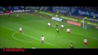 Bundesliga 22.02.2014 Hamburger SV gegen Borussia Dortmund Highlights