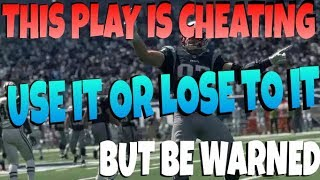 NEVER LOSE AGAIN! GAME BREAKING GLITCH! MADDEN 18 BEST MONEY PASS PLAY! NO DEFENSE CAN STOP CHEAT