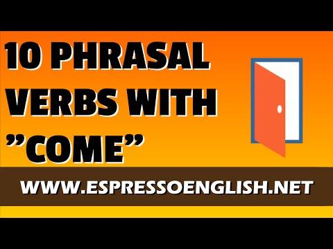 Phrasal verbs con Come