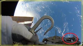 Astronauta de la NASA Afirma que Vio un SER Orgánico y Alienígena en el Espacio