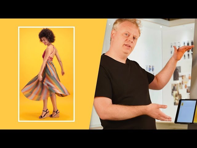 How to shoot a video of a model wearing a dress