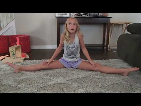 How to Stretch for Cheer Flyer Sunset Kay episode 2