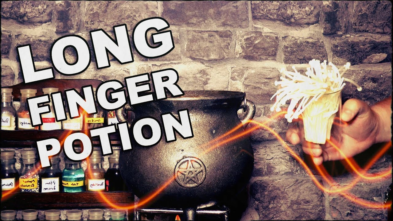 How To Make A Potion To Get Long Fingers