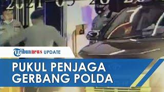 Penyebab Kompol RW Tinju Penjaga Gerbang Polda Riau hingga Tumbang, Begini Nasib sang Perwira Kini