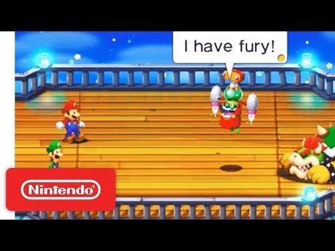 Mario & Luigi Superstar Saga + Bowser's Minions - Nintendo 3DS Launch Trailer