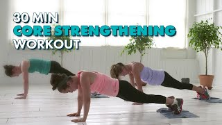 30-Minute Core Strengthening Workout - The CafeMom Studios Workout