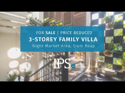 3-Storey Family Villa For Sale - Night Market Area, Siem Reap thumbnail