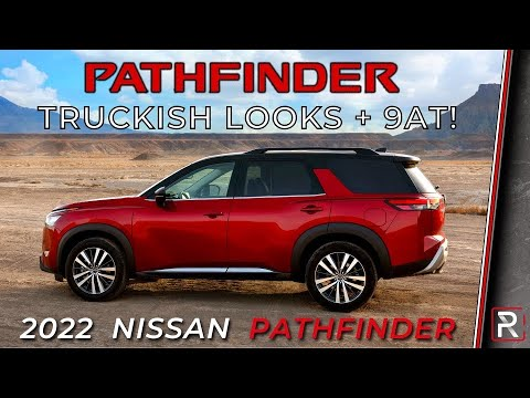 2022 Nissan Pathfinder – Redline: First Look