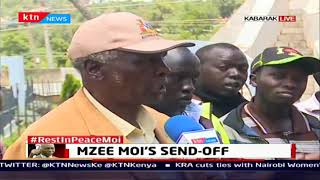 Eight delegation including cabinet secretaries visit Moi's family in Kabarnet to pay tribute to Moi